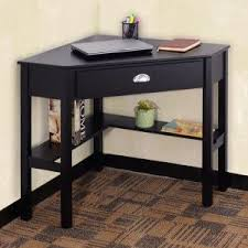 Space Saving Laptop Desk New In Box Black Wooden Space Saving Corner Computer Laptop Desk
