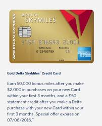 delta gold business card increased sign up bonus on both delta gold cards 50 000