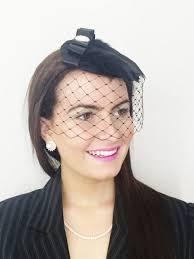 lace fascinator black vintage lace veil funeral hat headpiece fascinator widow