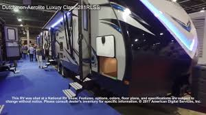 dutchmen aerolite luxury class 281rlss youtube