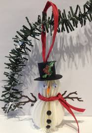 annes papercreations paper snowman ornament tutorial