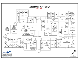 Westminster Colorado Map by Mount Antero Building Map Larimer Campus Frcc