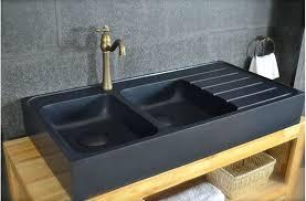soldes evier cuisine evier granit noir 2 bacs avier granit noir de cuisine en 2