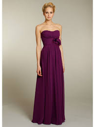 sweetheart floor length chiffon long bridesmaid formal wedding