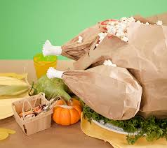 thanksgiving paper bag turkey for the kid s table disney baby