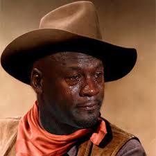 Michael Jordan Meme - john wayne crying michael jordan know your meme