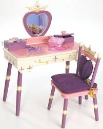 vanities childrens wooden vanity table always a princess vanity table with box and chair