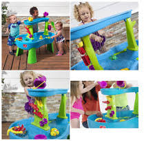 step 2 rain showers splash pond water table play water table balls kids toy play activity splash fun