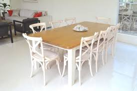 White Wash Table And Chairs White Wash Cross Back Chairs And Country Style Table Shabby Chic