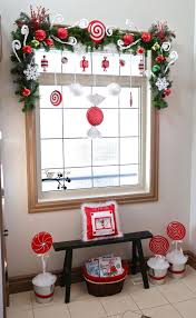 Christmas Decoration Ideas For Kitchen Add Cheer To Your Windows By Decorating Them For Christmas