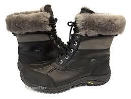 s ugg adirondack boot ii ugg s adirondack boot ii black grey national sheriffs