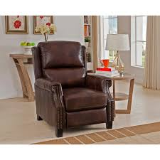 Recliner Chair Rivington Brown Premium Top Grain Italian Leather Recliner Chair
