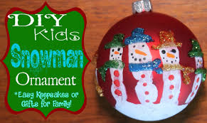 diy handprint snowman ornament easy and a great keepsake