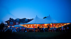 wedding tent lighting beautiful blooms rustic backyard wedding celebration tent