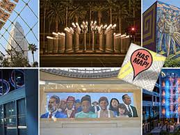 Airports Around Los Angeles Map by A Guide To Finding Public Art Wherever You Are In Los Angeles