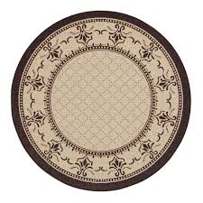 5ft Round Rug by Indoor Outdoor Round Rugs Roselawnlutheran