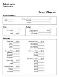 Event Planning Sheet Template Steps In Launching Your Own Event Business Event Planning