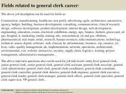 sample clerk resume resume cv cover letter general clerk cover