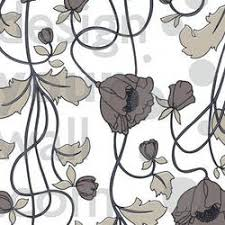 vintage retro floral wallpaper designyourwall
