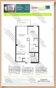 The O2 Floor Plan by One Park West Home Leader Realty Inc Maziar Moini