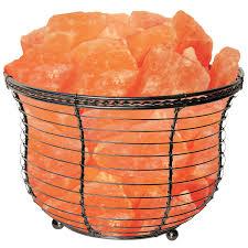 himalayan salt l basket basket salt l beautiful himalayan salt ls