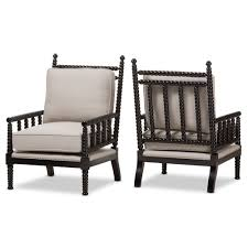Affordable Accent Chairs by Upholstered Accent Chairs Stunning Baxton Studio Oreille French