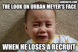 Cry Baby Memes - nfl funny baby memes recruit kc mcdermott calls urban meyer a