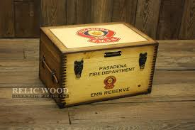 Customized Keepsake Box Personalized Fire Department Gifts Wooden Keepsake Box