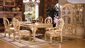 How To Set A Formal Dining Room Table Furniture Tuscany Formal Dining Room Set In Antique White