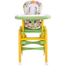 goplus 3 in 1 baby high chair convertible play table seat booster