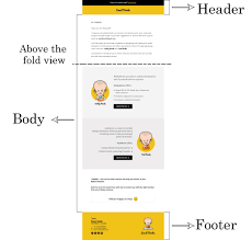 how to design psd template for an email campaign