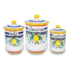 italian kitchen canisters 192 best canister images on vintage canisters