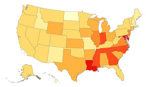 Where Is Utah On The Map by Where College Basketball Teams Recruit