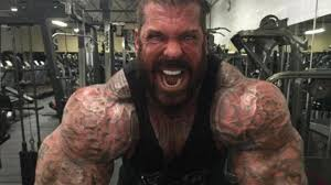 demi tubuh berotot pria ini pakai steroid sejak usia 18 tahun