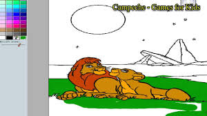 lion king online coloring pages simba and nala 61 youtube