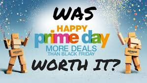 does amazon do black friday prime day is a big deal for amazon u2014 but is it a good deal for