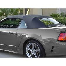 1999 ford mustang convertible top replacement kee auto mustang cv top glass window defrost sailcloth 1994 04