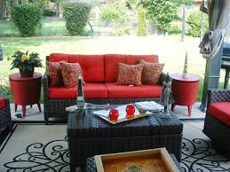 Red And Black Furniture For Living Room by Best 25 Black Outdoor Furniture Ideas On Pinterest Black Rattan