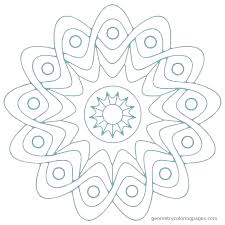 mandala art coloring pages easy mandalas print