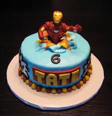 birthday cake ideas cool iron man birthday cake for birthday boys