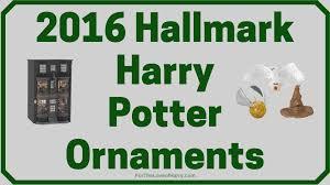 2016 harry potter hallmark ornaments
