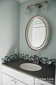 bathroom backsplash cabinet backsplash