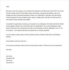 donation letter example donation letter the donation