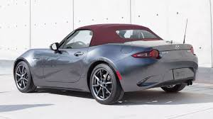 where does mazda come from you can order a 2018 mazda miata with a red top finally