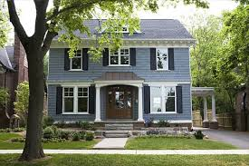 exterior of homes designs paint color schemes slate blue paints