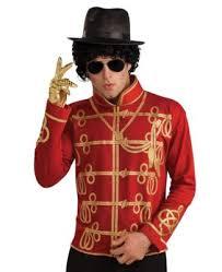michael jackson military jacket halloween costume med clothing