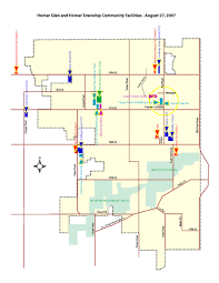 Map Me Home Homer Area Community Facilities Map Homer Glen Il Official