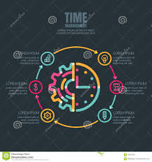 time design planner time management and planning business infographics design