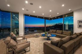 multi million home on the hills of los angeles has panoramic views