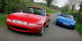 the new mazda new mazda mx 5 goes head to head with original superunleaded com